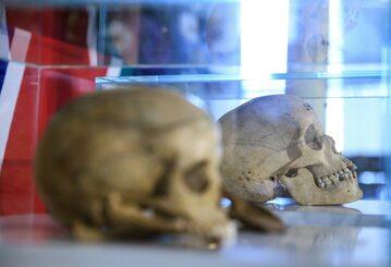 Szczątki zamordowanych przez niemieckie wojska kolonialne w Namibii