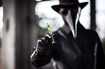 Szczepionka na dżumę, zdjęcie ilustracyjne