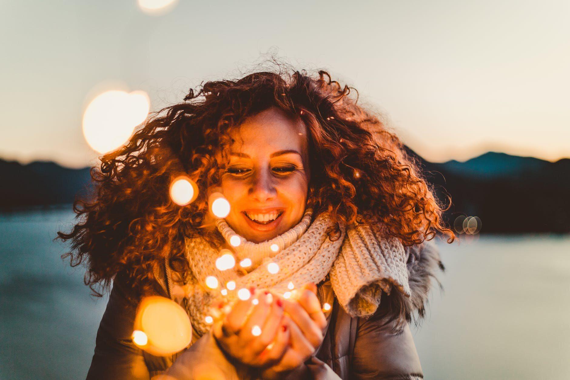 Szczęśliwa kobieta