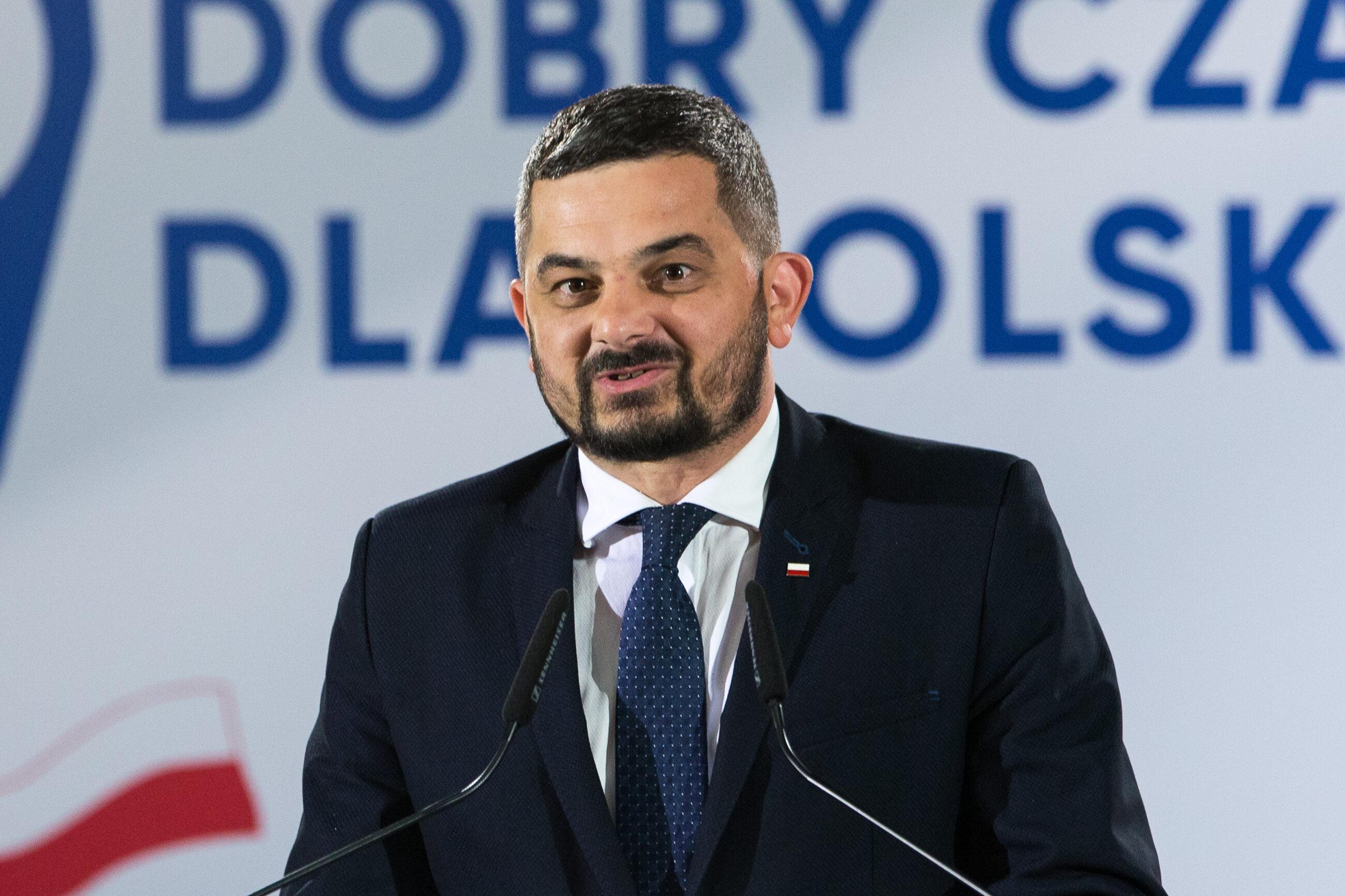 Szef Komitetu Wykonawczego PiS Krzysztof Sobolewski
