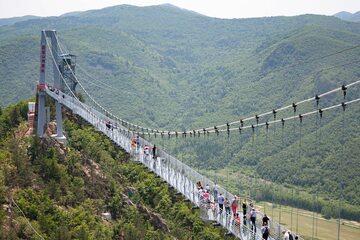 Szklany most w Longjing