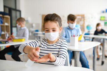 Szkoła w dobie pandemii, zdjęcie ilustracyjne