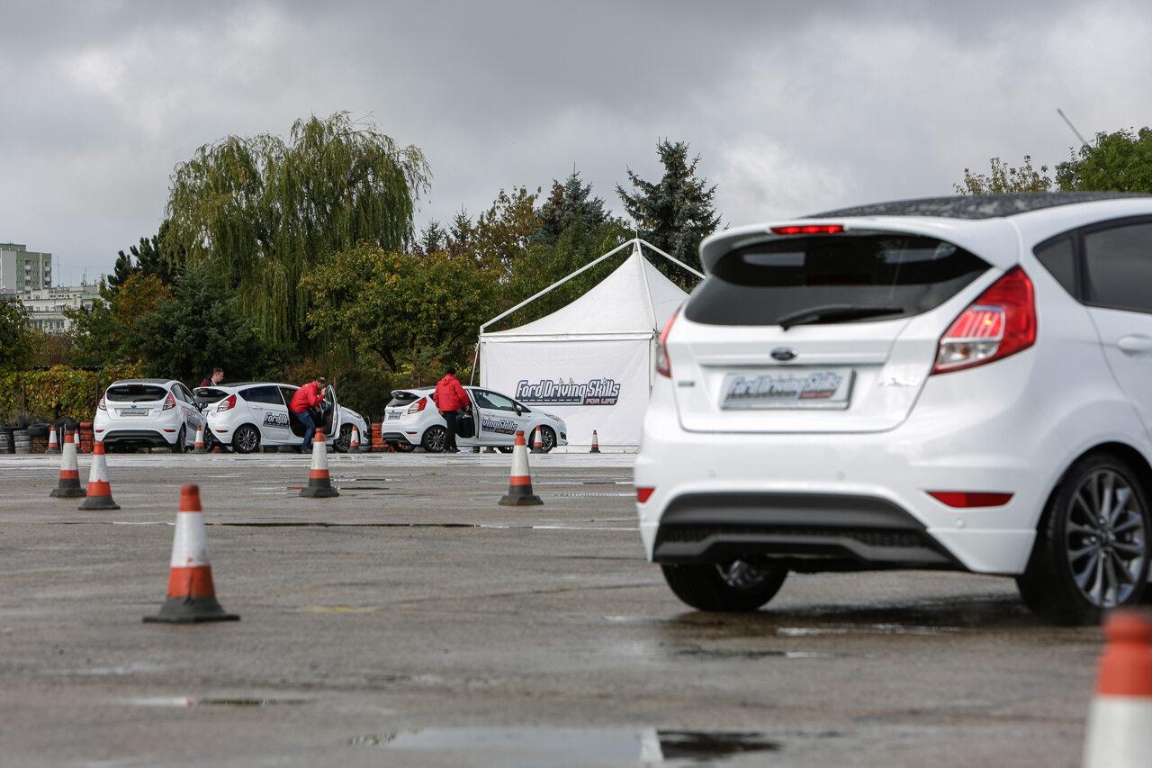Szkolenie dla młodych kierowców Ford Driving Skills for Life