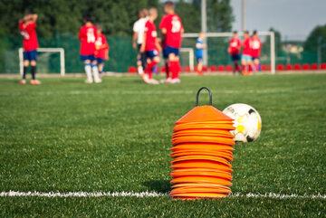 Szkółka piłkarska, zdjęcie ilustracyjne