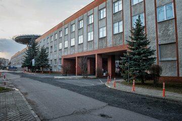 Szpital Uniwersytecki w Zielonej Górze, w którym przebywał pierwszy polski pacjent z koronawirusem