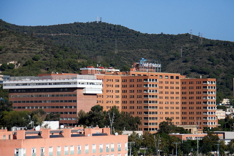 Szpital Vall d'Hebron w Barcelonie