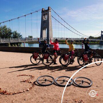 Sztafeta rowerowa Rolling2Zwrotnik jest już na półmetku