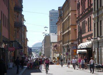Sztokholm, ulica Gotgatan