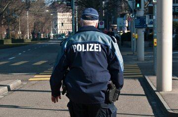 Szwajcarski policjant