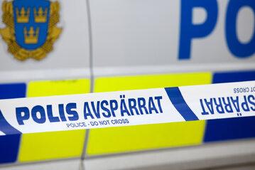Szwedzka policja, zdjęcie ilustracyjne