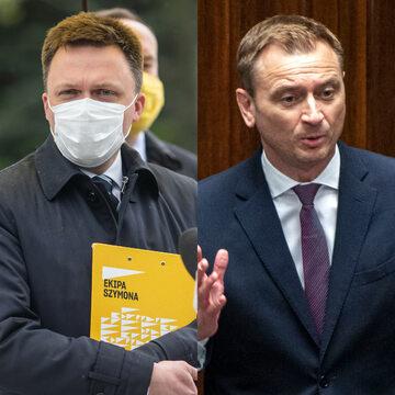 Szymon Hołownia i Sławomir Nitras