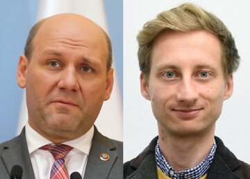 Szymon Szynkowski vel Sęk i Franciszek Sterczewski