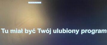 Taki komunikat zobaczymy dziś m.in. w TVN24