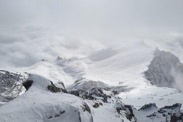 Tatry. Widok ze szczytu słowackiej Łomnicy