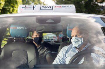 Taxi w czasach pandemii