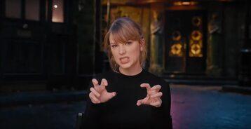 """Taylor Swift w klipie promującym film """"Koty"""""""