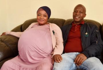 Tebogo Tsotesi – mąż Gosiame Thamara Sithole, która miała urodzić 10 dzieci, stracił z nią kontakt 7 czerwca.