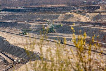 Tereny kopalni Turów