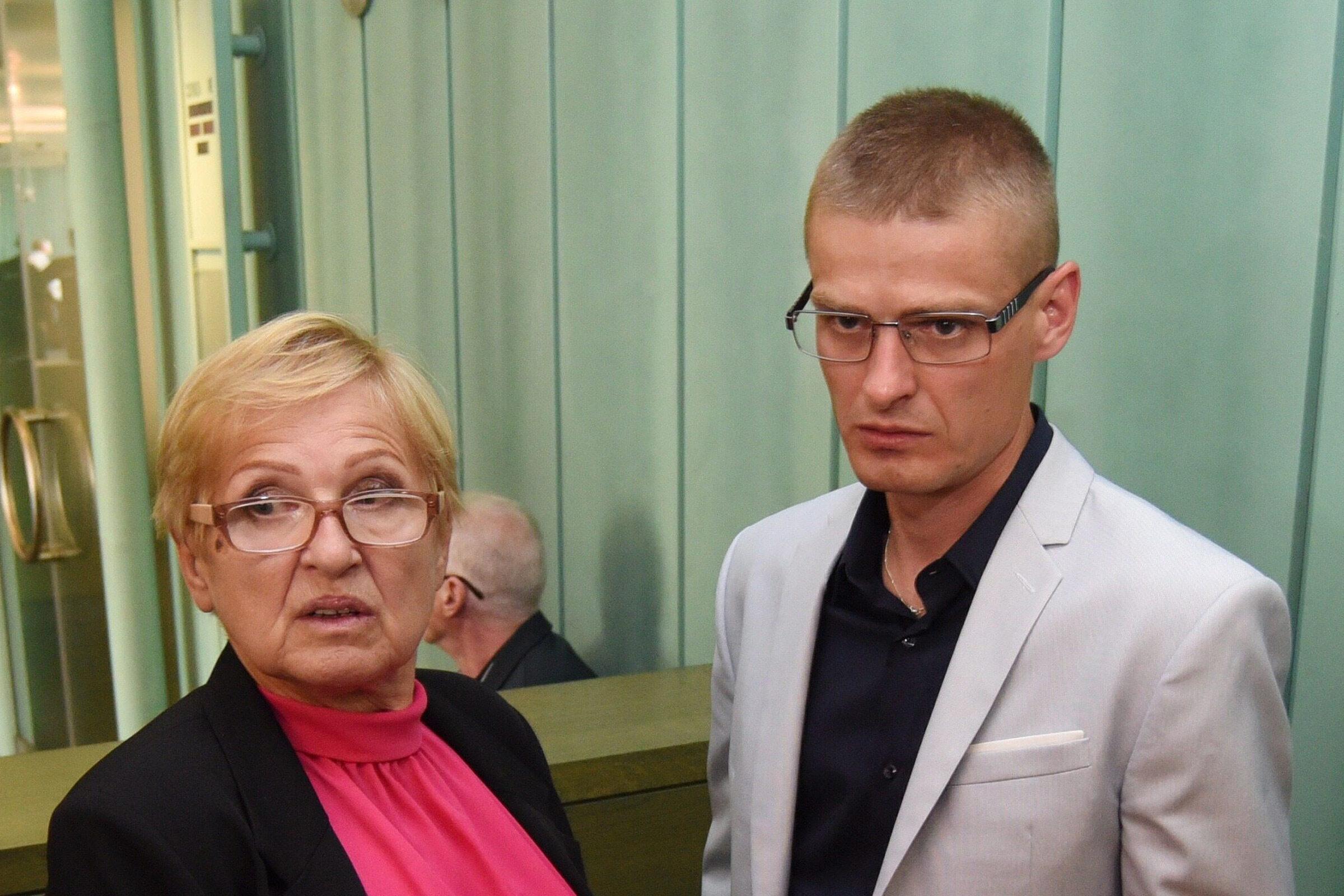 Teresa Klemańska i Tomasz Komenda