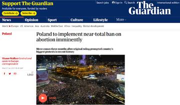 The Guardian o sytuacji w Polsce