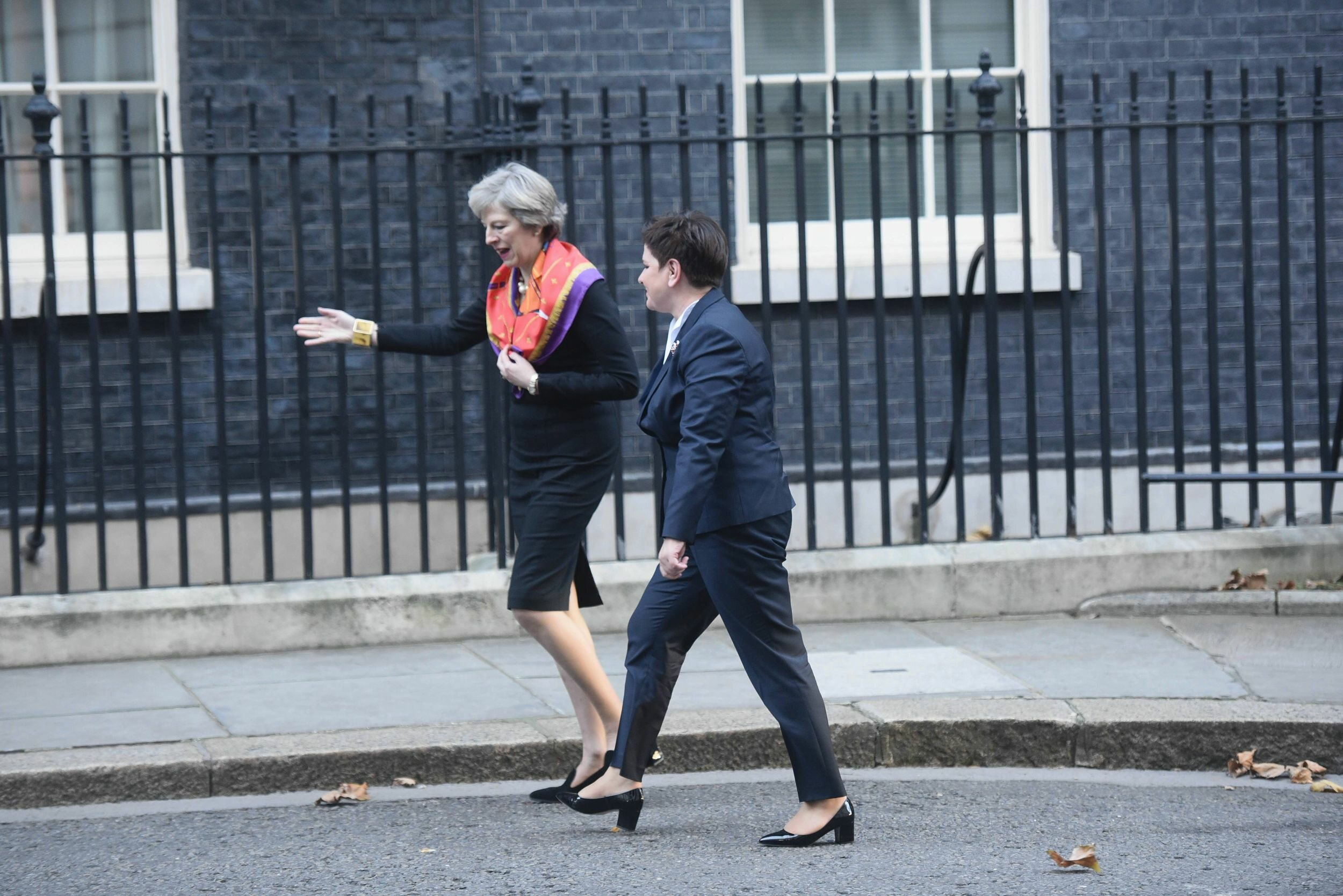 Theresa May i Beata Szydło