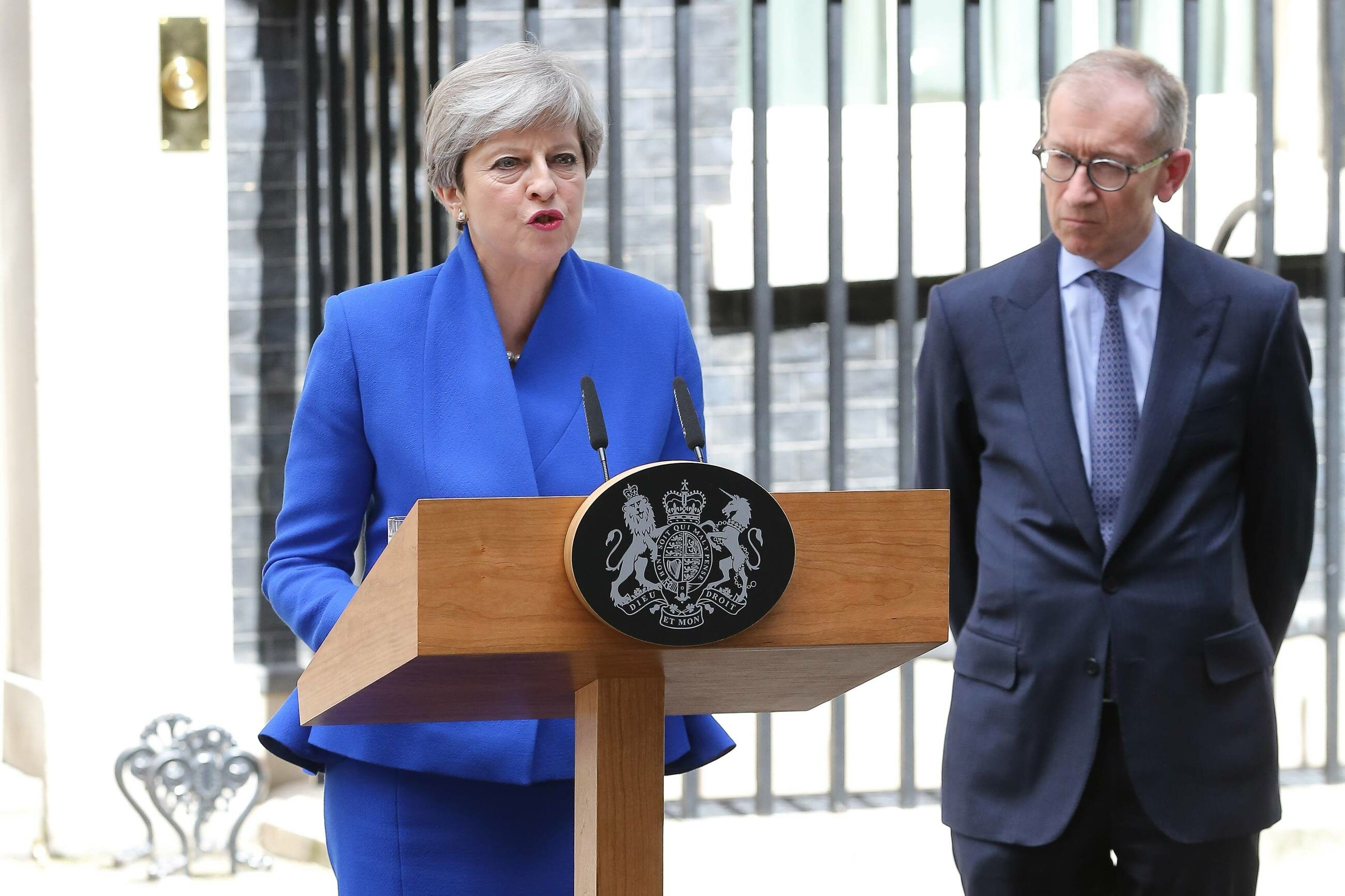 Theresa May i Philip May