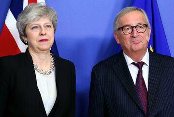 Theresa May, Jean-Claude Juncker