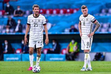 Thomas Muller i Toni Kroos