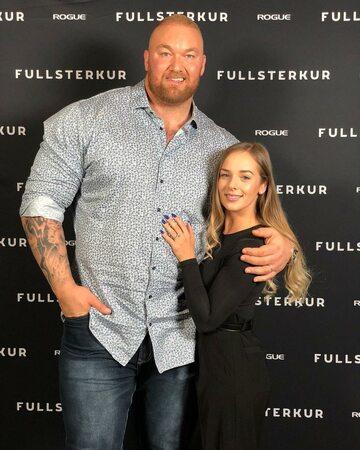 Thor Björnsson i Kelsey Henson