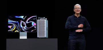 Tim Cook prezentuje nowy model Mac Pro