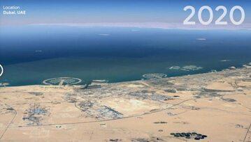 Timelapse w Google Earth