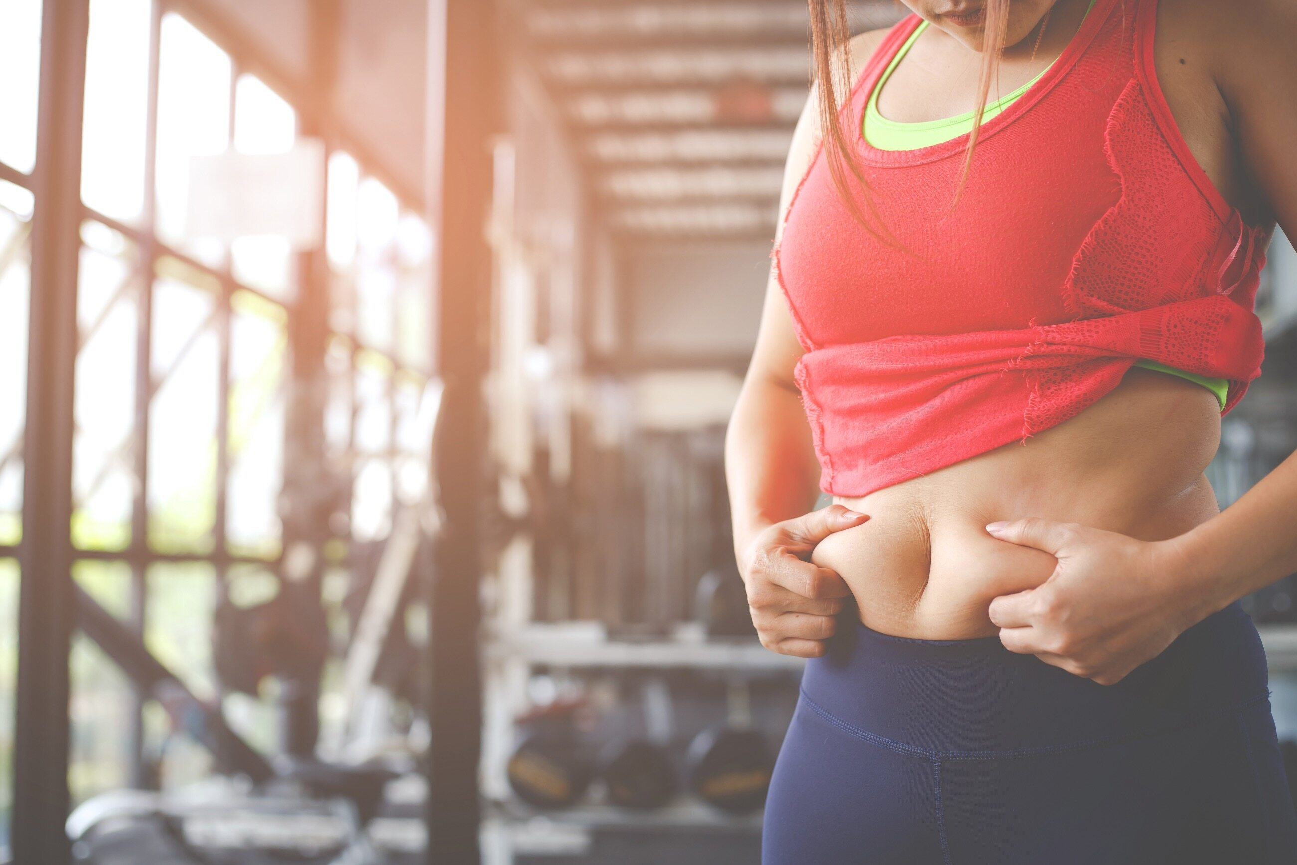 Tkanka tłuszczowa w obrębie brzucha
