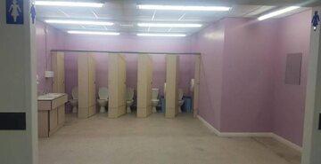 Toaleta dziewcząt w St Mary's Catholic College