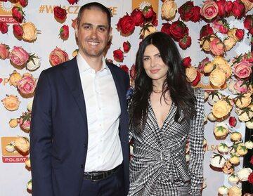 Tobias Solorz z żoną Moniką Suchocką