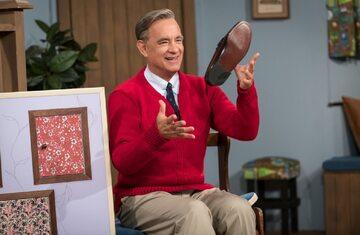 "Tom Hanks w filmie ""A Beautiful Day in the Neighborhood"""