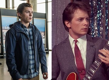 Tom Holland, Michael J. Fox