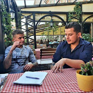 Tomasz Komenda i Rafał Collins