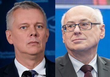 Tomasz Siemoniak i Zdzisław Krasnodębski