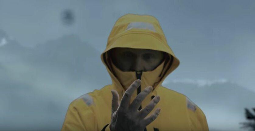 Tomasz Zubilewicz w reklamie Death Stranding
