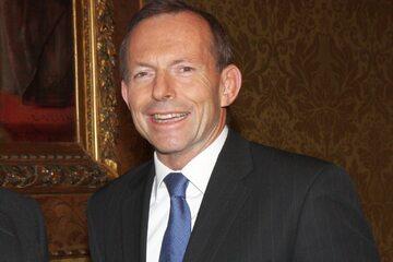Tony Abbott w 2012 roku