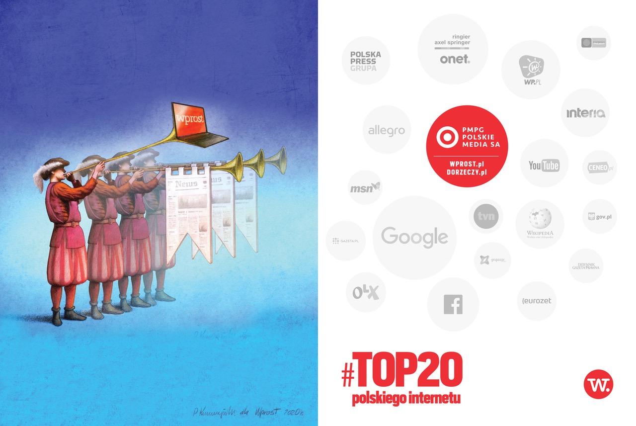 Top 20 polskiego internetu