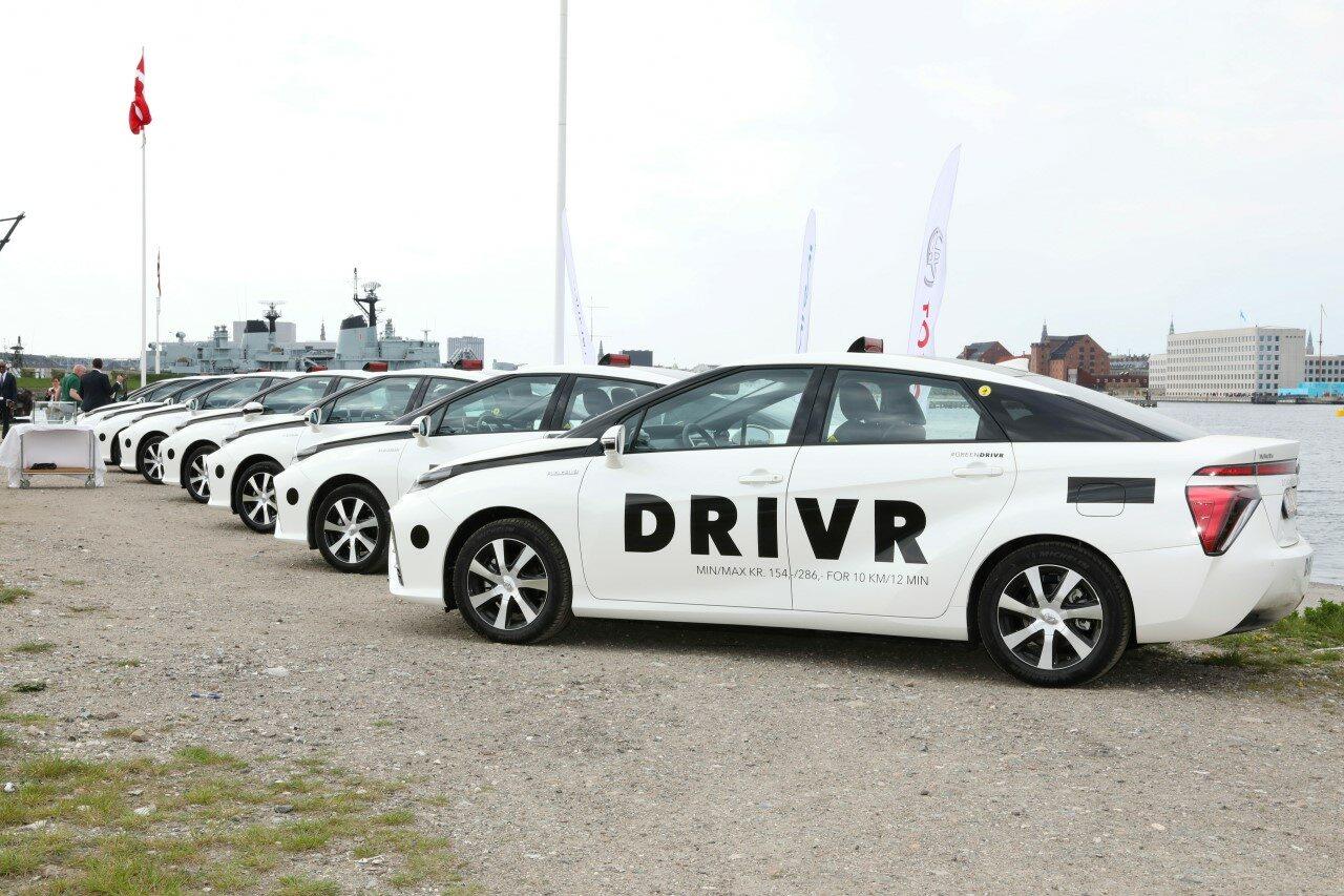 Toyota Mirai we flocie Drivr