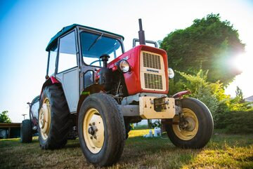 Traktor, zdjęcie ilustracyjne