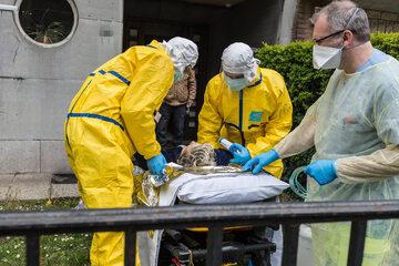 Transport pacjenta z podejrzeniem zakażenia koronawirusem