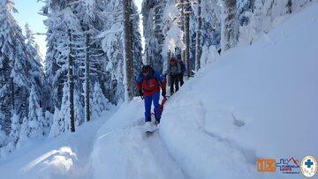 Transport zwłok z Chatki pod Śnieżnikiem