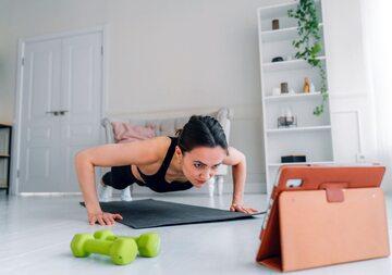 Trening online, zdj. ilustracyjne