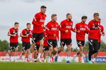 Trening polskiej reprezentacji przed Euro 2020