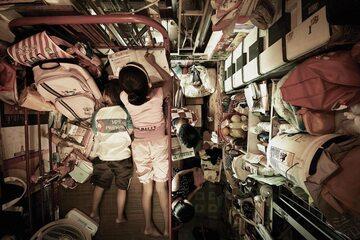 """Trumienne kwatery"" w Hongkongu"