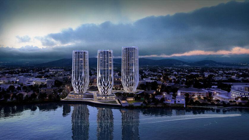 Trzy wieże w Brisbane