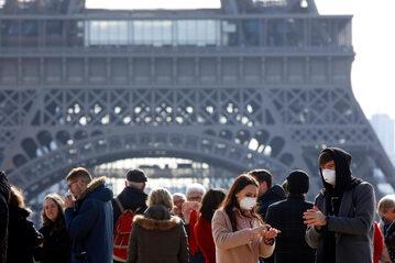 Turyście w Paryżu